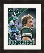 Autograph Warehouse 291179 8 x 10 in. Joe Klecko Autographed No.6 Matted & Framed Photo - New York Jets JCP