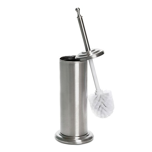 Home Intuition Stainless Steel Toilet Brush and Holder by Home Intuition
