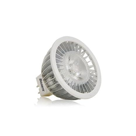 Bulbrite led6mr16ww/NF Citizen 12 V LED Turbo Mr16 bi-pin estrecho inundaciones,