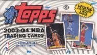 2003 04 Topps Basketball Cards Unopened Hobby Factory Set (Box) - LeBron James