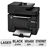Hewlett Packard CZ181AR#BGJ Wireless Monochrome Photo Printer with Scanner Copier & Fax