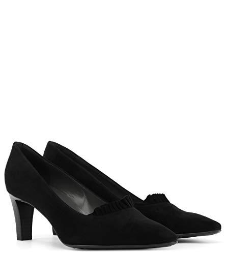 Negro Zapatos Kaiser Con Punta Mujer Tacón De Cerrada Peter Ufxn8Hq6H
