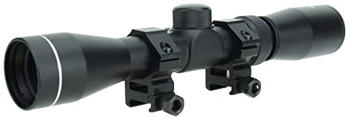 TACFIRE Tactical 2-7x32 Long Eye Relief Scout Rifle/Pistol Scope with Rings & Lens Covers