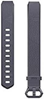 Fitbit Alta HR and Alta Classic Accessory Band, Blue Gray, Large