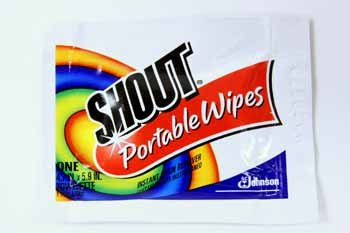 Shout Wipes (case of 80)