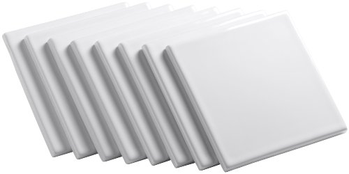 Kohler K-14207-0 Solid-Color Field Tile, White ()