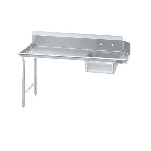 Dishtable Standard (Advance Tabco Standard S70 Series 304 Top Stainless Steel Soil Straight Dishtable, 9 Feet -- 1 each.)