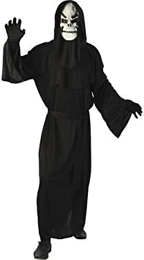 DISONIL Disfraz Demonio Esqueleto Hombre Talla XL: Amazon.es ...