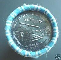 2004 P Jefferson Louisiana Purchase roll Brilliant Uncirculated