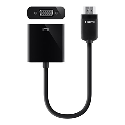 Belkin HDMI to VGA Projector Adapter (Supports HDMI 2.0)