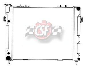 jeep cherokee csf radiator - 8