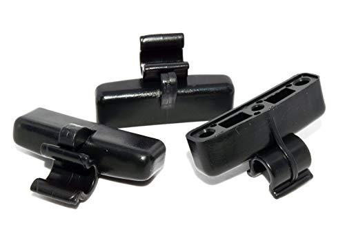Set of 3 Genuine Suzuki Sidekick/Geo Tracker Rear Tailgate Soft Top Clips (Made in Japan)
