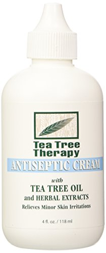 - Tea Tree Therapy Antiseptic Cream, 4 Ounce