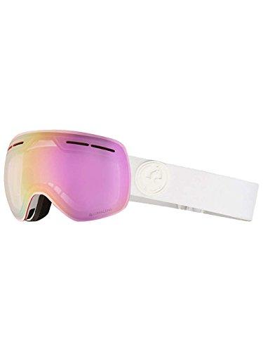 Dragon Alliance X1s Ski Goggles, Medium, White, Whiteout/Luma Pink Ion - Alliance Dragon