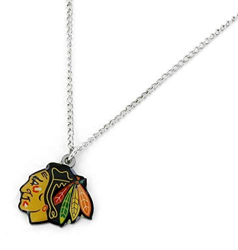 aminco NHL Chicago Blackhawks Logo Pendant