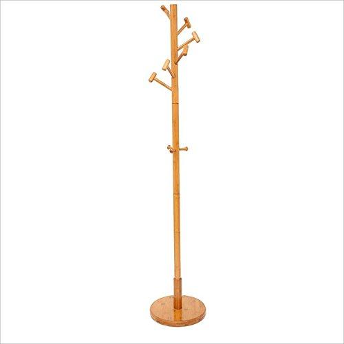 Perchero Nan pie Artesanía de Bambú Perchas Dormitorio 9 ...