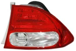 TYC 11-6165-91 Honda Civic Passenger Side Replacement Tail Light Assembly