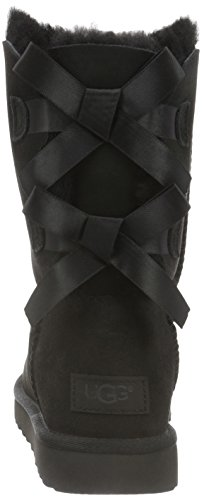 UGG Women's Bailey Bow II Winter Boot, Black, 8 B US by UGG (Image #2)