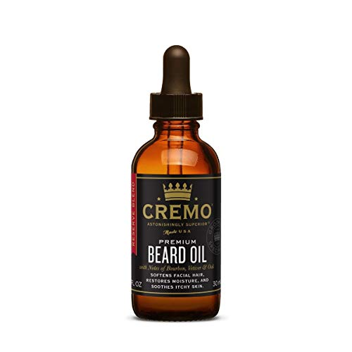 Cremo Reserve Blend Astonishingly Superior Beard Oil, 1 Fluid Ounce
