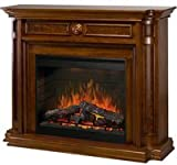 "Hartford 30"" Medium Cherry Electric Fireplace"