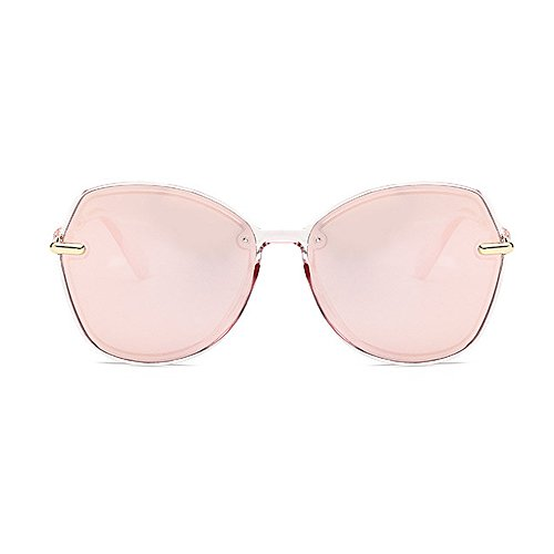 mujeres sol unisex de personalidad Gafas Gafas de las de la sol la de sol los Retro para y hombres de Protección las ULTRAVIOLETA de de sol Rosado del marco conducción de las retro polarizadas gafas de gafas 70wxfW5Hq