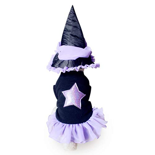 (Moonper Pet Halloween Clothes Cat Dog Party Dressing up Fashion Apparel Fashion Style Clothes Hat (S,)