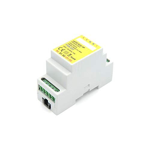 eutonomy/ senza bottoni /Adattatore eufix DIN per Fibaro FGS-222/