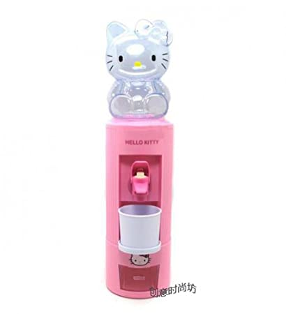 Hello Kitty - Dispensador de agua, color rosa