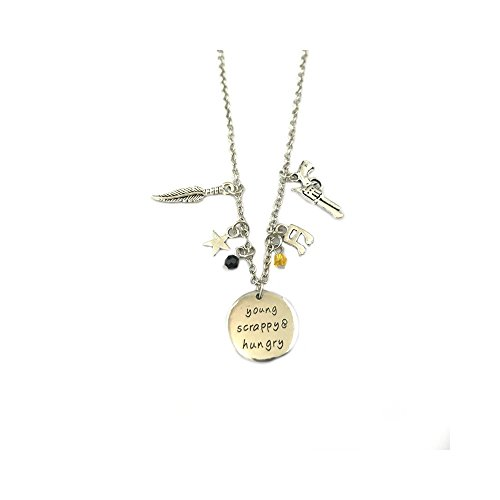 Hamilton Musical Play Pendant Necklace With Gift Box from Outlander (Rogue X Men Cartoon Costume)