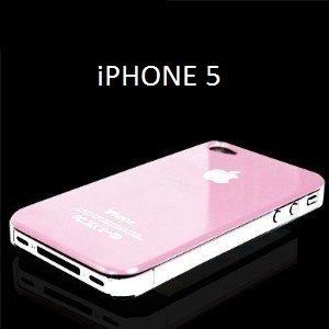 coque iphone 5 rose pale