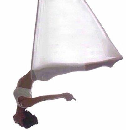Weimanshop Yoga Hängematte set Anti-Gravity-Schwingen Aerial Yoga Fitness Tuch 500280cm