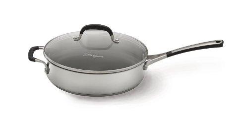 Simply Calphalon Stainless 3 Quart Saute Pan