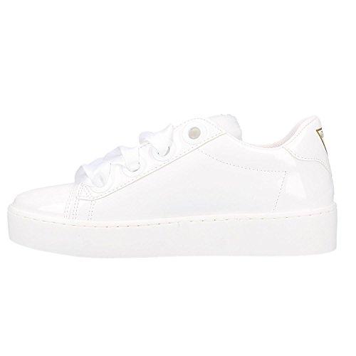 Femme Guess Blanc Gymnastique de Urny Chaussures wZIqrIUY