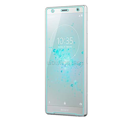 Aomgsd Sony Xperia XZ2 Compact ガラスフィルム Sony エクスペリア XZ2 Compact SO-05K 強化フィルム 3D曲面 液晶保護フィルム 極高透過率 硬度9H 指紋防止 簡単貼り付け 自己吸着 キズ防止 衝撃吸収 撥油性 (タイプ1)