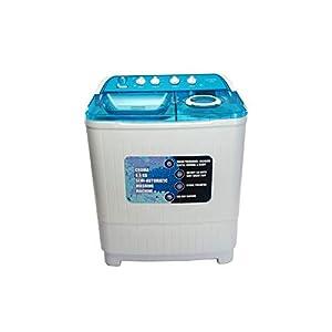 Croma 8.5 kg Semi Automatic Top Load Washing Machine (CRAW2222, White)