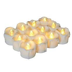 Homemory Timer Tea Light Candles Bulk, S...