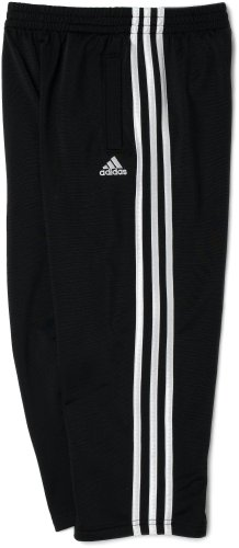 adidas Little Boys' Tricot Pant, Black, 5 (Pants Active Boys)
