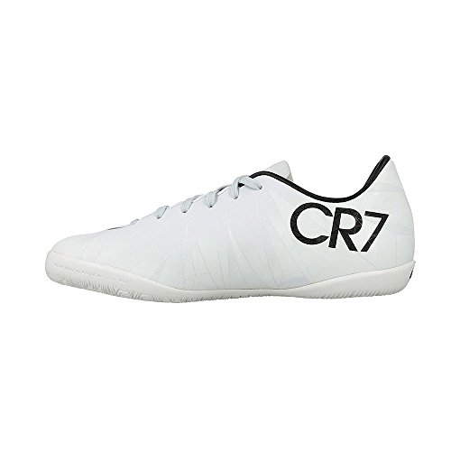 Nike Junior MercurialX Victory 6 CR7 IC Soccer Shoes (Blue Tint/Black/White) (13.5 M US Little Kid)