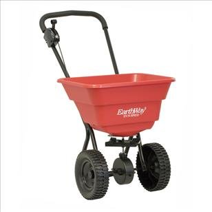 EarthWay 2050SU Deluxe Ice Melt Sand Salt Snow De-Icers Seed Residential Broadcast Spreader