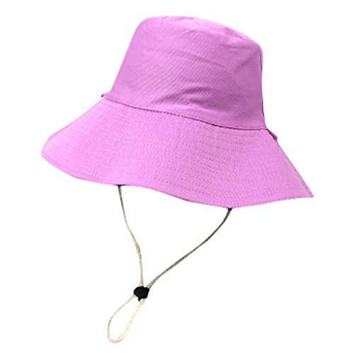 (Sun Hat with UV Protection Wild Big Fisherman Hat Female Spring and Summer Sun Visor Hat)