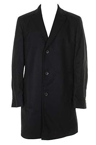 Hugo Boss Boss Mens Navy Diagonal Stitch Top Coat R for sale  Delivered anywhere in USA