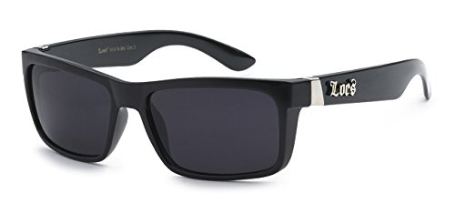 Locs Hardcore Silver Sunglasses Wayfarer