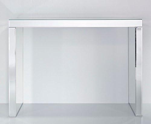 Casa Padrino Consola de Cristal Espejo 121 x 36 x H. 88 cm - Mobiliario Accesorios: Amazon.es: Hogar