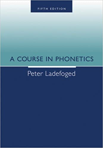 Amazon a course in phonetics 9781413006889 peter ladefoged amazon a course in phonetics 9781413006889 peter ladefoged books fandeluxe Image collections