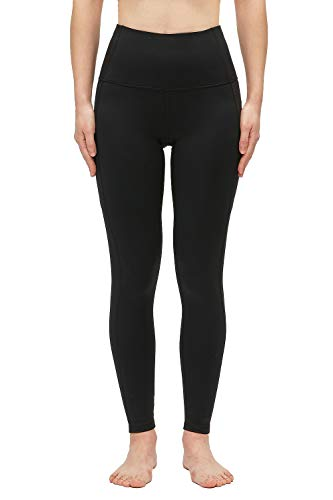 YGGYM Yoga Pants Work Out Leggings with Pockets,Tummy Control,High Waist Workout Running Pants (Medium, Black)