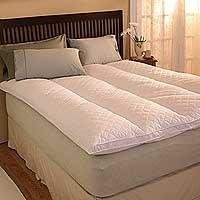 Pacific Coast Euro Rest Featherbed - Pacific Coast Euro Rest Feather Bed King 76x80 Inch