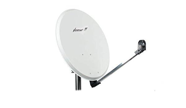 Antena Parabólica Visiosat SMC-120 Polyester 120cm: Amazon.es: Electrónica