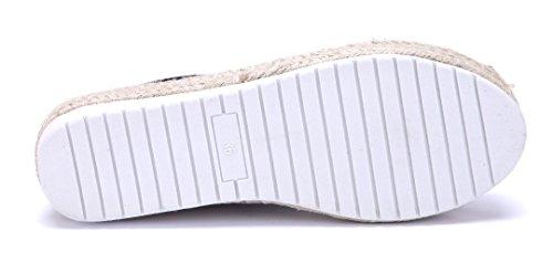 Schuhtempel24 Damen Schuhe Halbschuhe Flach Ziersteine Schwarz