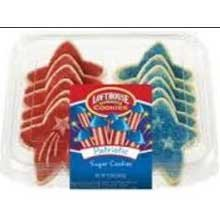 Lofthouse Patriotic Sugar Cookie, 9.5 Ounce -- 18 per case. by Parco/Lofthouse