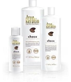 True Keratin Choco – alisado brasileño: Ultra Nutrición para Cabello crépus & frisés (118mlx2